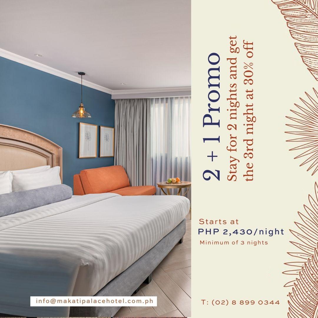 Makati Palace Hotel Promo