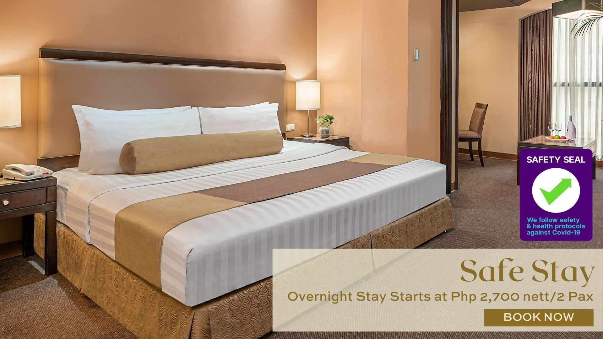Non-Quarantine Hotel in Makati City