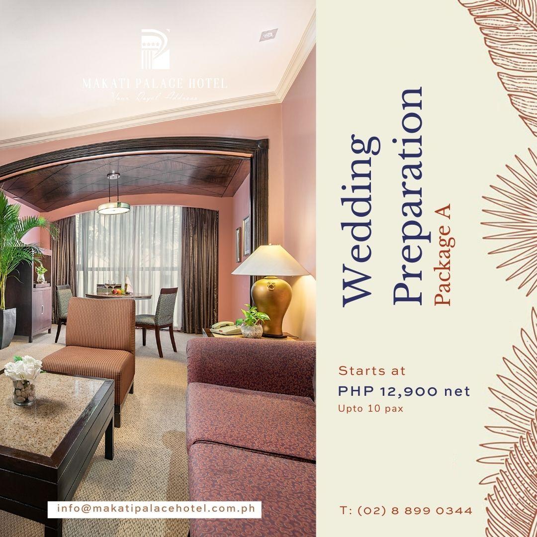Non-Quarantine Hotel in Makati - Wedding Preparation