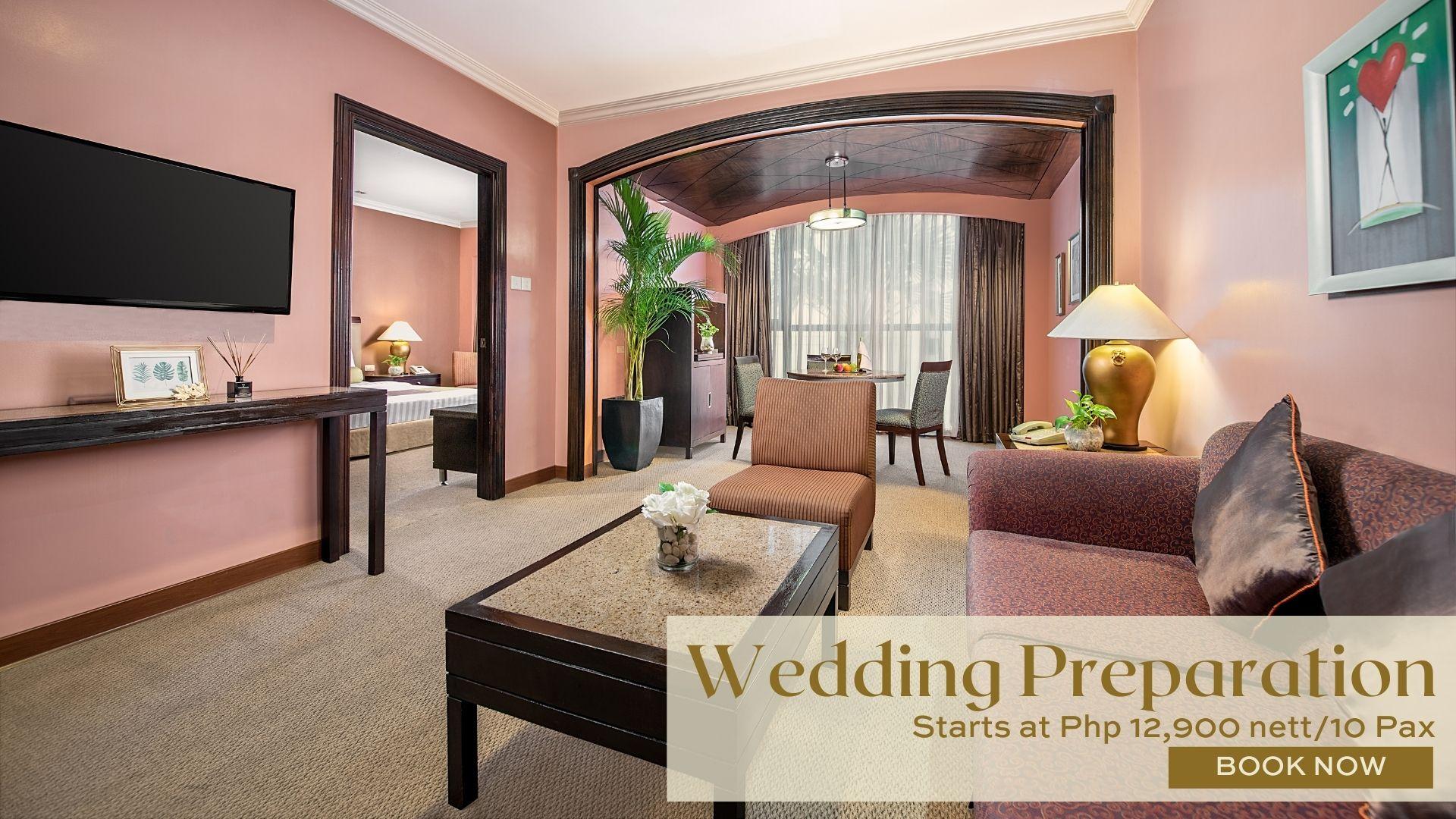 Wedding Preparation Package in Makati